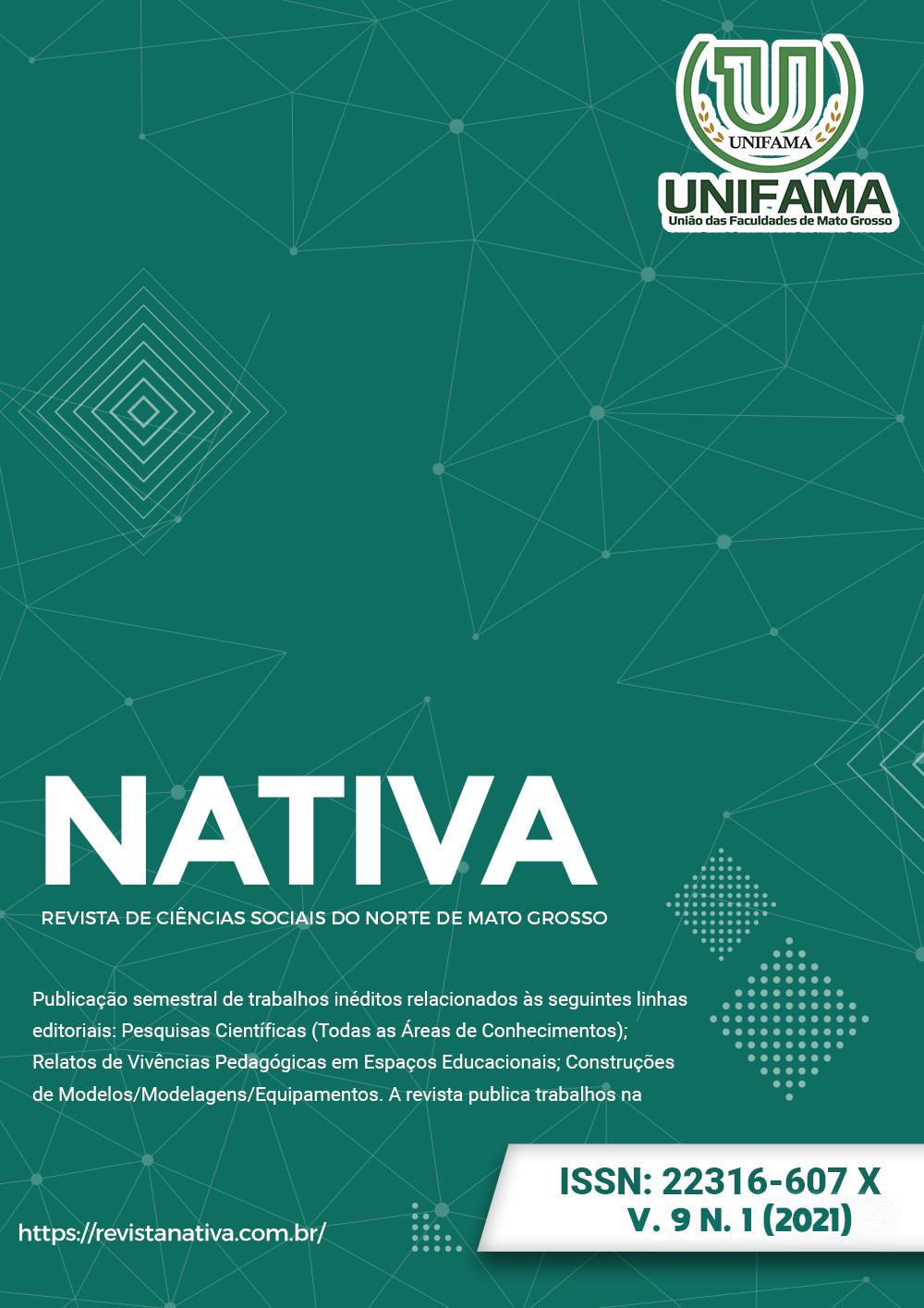 Visualizar v. 9 n. 1 (2021): Nativa – Revista de Ciências Sociais do Norte de Mato Grosso